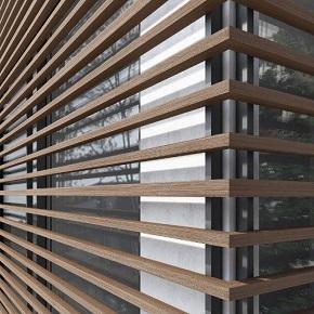 Σκιάδια Επικαλυμένου Αλουμινίου - Woodalux
